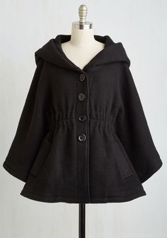Snuggled in the textured fabric of this Steve Madden coat, you brim with the confident feeling that you can accomplish anything! A wonderfully oversized hood and coveted pockets adorn this black, quad-buttoned layer, adding an air of mystery that bolsters your boldness. #affiliate