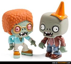 Diy Plants and Zombies Toys - - Yahoo Image Search Results Plants Vs Zombies, Toy Art, P Vs Z, Plantas Versus Zombies, Zombie Princess, Geek Toys, Science Toys, Hobby Toys, Vinyl Toys