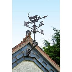Ready to pounce, this lively black cat and mouse Rustic Iron Cat & Mouse Weathervane is full of humour. Guaranteed to make your visitors smile, it is available in an olde weathered rustic iron finish. Roof Brackets, Cat Mouse, More Fun, Fantasy, Rustic, Make It Yourself, Cats, Cast Iron, Range