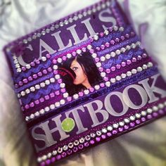 Bedazzled shot book