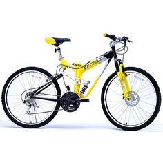 This deluxe unisex all-terrain mountain bike is durable and can provide years of riding. Featuring Shimano components, the 21-speed gear system allows for all-terrain riding. The front disk brake system gives you steady and safe braking control.