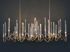 Скачать каталог и узнать цены на Il pezzo 3 | long chandelier by Il Pezzo Mancante, подвесной светильник дизайн Cosimo Terzani, Barbara Bertocci, коллекция Il Pezzo 3