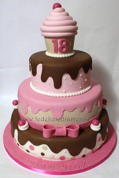 Sweet Tooth Birthday Cake