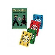Dutch Blitz: fast pace game, fun for whole family..got ours in 1970's still playing!