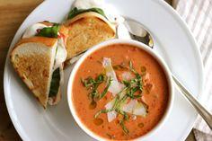 Chorizo & Vegetable Cream Soup