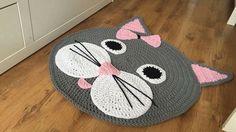Artículos similares a Baby rug, decorative crochet rug en Etsy Chat Crochet, Crochet Mat, Crochet Rug Patterns, Crochet Carpet, Crochet Pillow, Crochet Home, Baby Knitting Patterns, Crochet Crafts, Crochet Projects