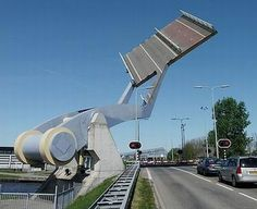 The Leeuwarden Flying Bridge--This is a seriously cool bridge, located in…