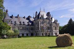 Château de Menetou-Salon - Cher, Centre - XIVe - XIXe (propriété des Princes d'Arenberg)