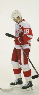 Steve Yzerman - Detroit Red Wings....One of my favorite players of all time