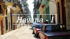 This is the first of two short movies about Havana.