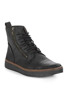 Brands | Men's Shoes | Barrett Creeper Leather Sneakers | Hudson's Bay