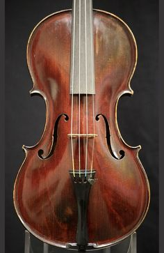 Catalog of fine violins for sale, including a violin by Andrew Hyde, by old and modern master violinmakers including Italian violins, for violinists and violin players.