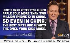 Conan's view on asian kids...