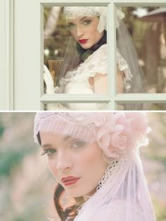 Beautiful Romantic Vintage Wedding Veils | Girly Inspiration