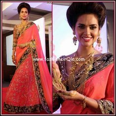 Esha Gupta Manish Malhotra Azva World Gold Council Kerala Lame or Fame :