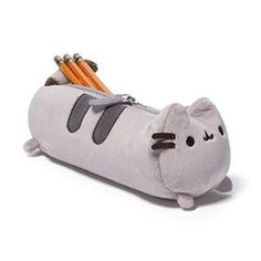 "Pusheen the Cat Pencil Case- want this, to match my Pusheen bookbag. Everyone last year who made fun of me will watch me pull my pencil case out and be like ""Aaaaand she's back at it again"" or maybe this is why i have no friends"