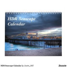 HDR Seascape Calendar :- This calendar features a selection of views and seascapes photographed within the south of England. HDR stands for High Dynamic Range, a photographic process that heightens colors and brings out details. #seascape #england #hdr #highdynamicrange #ocean #sea #water #photography #picturesque #scenic #beautiful #calendar #brighton #Sussex