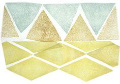 emerald-snow-triangle-print