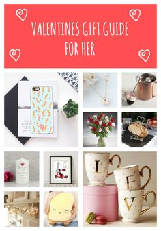 Valentines Day Gift Guide for Her. 25 amazing gift ideas for the lady in your life. Click here to find out more: http://withlovefromlou.co.uk/2016/02/valentines-day-gift-guide-for-her/