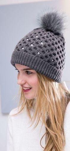 Mütze | Eine Pinterest-Sammlung von Kerstin Daft | Beanie stricken ...