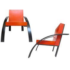 Pair of Parigi Chairs by Aldo Rossi for Unifor