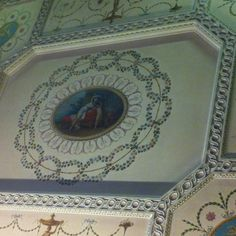 Ceiling, Nostell priory