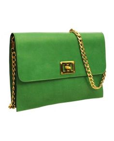 Pochette Broche Vert 110.00€