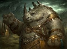 Rhino. Sigil captain
