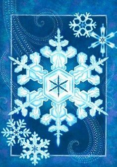 Elegant Snowflake - 12 Inch X 18 Inch Garden Size Decorative Flag by Custom Decor. Save 37 Off!. $12.69. 12 Inch X 18 Inch Large Decorative Flag. Optional Mailbox Makover Available. Dye Sublimation Printing. Durable 300 Denier Fabric. Made in USA. This beautiful flag will brighten your garden or home. Made by Custom Decor in the USA, using their dye sublimation process you will have pride in flying it for years to come.