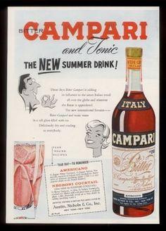 1961-Campari-tonic-2-cocktail-recipe-vintage-print-ad