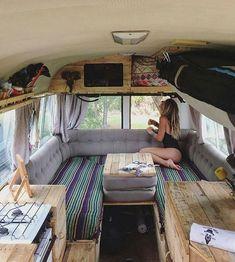 RV Camper Does Van Life Remodel Inspire You You will need to . - RV Camper Does Van Life Remodel Inspire You You will need to devote plenty of ti - Bus Camper, Camper Life, Rv Campers, Bus Life, Diy Van Camper, Hippie Camper, Teardrop Campers, Teardrop Trailer, Camping Car Van