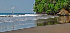 Wisata Pantai Batu Karas Pangandaran