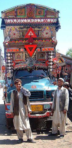 Truckers - Peshawar, Pakistan