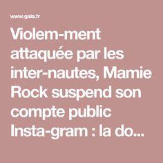 Violemment attaquée par les internautes, Mamie Rock suspend son compte public Instagram: la douleur d'Elyette Boudou - Gala