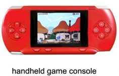 """DARK-RED 2.8"""" LCD Portable Game Console With AV-Out And TONS of Built-In Games, Game Disk Included - Best Gift for Kids  Product sku: 121 Availability: 3  Price: $39.99"""