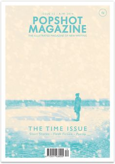 Cover art for Popshot Magazine, The Time Issue