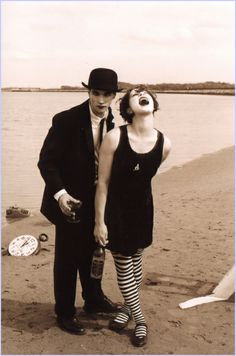 The Dresden Dolls (currently in love with them + the absolutely fearless Amanda Palmer)