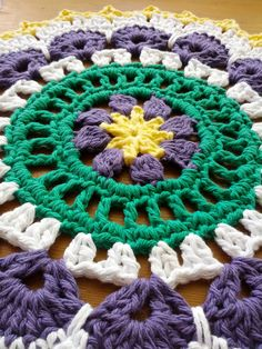 Ravelry: Picot Mandala by Marinke Slump