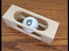 Build This Brain-Teasing Golf Ball in a Block of Wood | Make: DIY Projects, How-Tos, Electronics, Crafts and Ideas for Makers