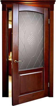 Lesser Seen Options for Custom Wood Interior Doors Home Door Design, Pooja Room Door Design, Bedroom Door Design, Door Gate Design, Door Design Interior, Interior Doors, Wooden Glass Door, Wooden Front Door Design, Main Entrance Door Design