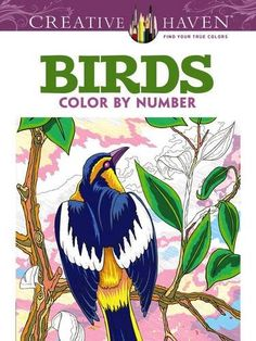 Amazon.com: Creative Haven Birds Color by Number Coloring Book (Creative Haven Coloring Books) (9780486798578): George Toufexis: Books