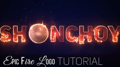 Tutorial | Epic Fire Logo | After Effects Video Effects, After Effects, Logo Tutorial, After Effect Tutorial, Motion Graphics, Fire, Youtube, Adobe, Tutorials
