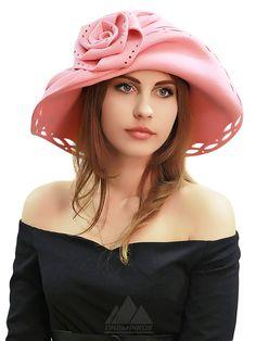 Шляпа Габриэлла - Женские шапки - Шляпки из фетра