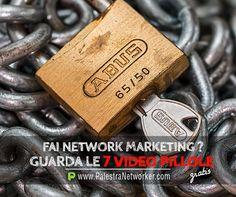 LIBERATI DAGLI ERRORI ... 7 Video Pillole sul Network Marketing (GRATIS) GUARDA => http://www.palestranetworker.com . . .  #networker #networkers #networkmarketing #palestranetworker