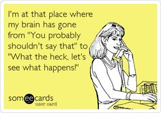 I think my brains always been there. Great Quotes, Quotes To Live By, Me Quotes, Funny Quotes, E Cards, Story Of My Life, Someecards, Just For Laughs, Laugh Out Loud