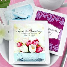 Personalized Tea Wed