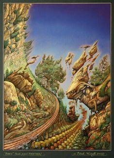 Patrick Woodroffe, surrealism, surrealistic paintings, surrealist art