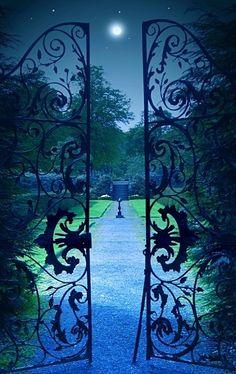 The secret garden • photo/digital art: Angela Jayne Latham on Celtic Photography