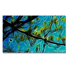 'Tree Branches' by Kathie McCurdy Graphic Art on Canvas