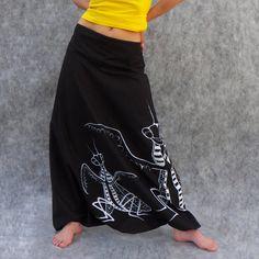 Tančící kudlanky černé